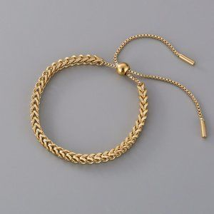NEW 18K Gold Plated Chunky Chain Bracelet
